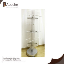 Acrylic store furniture high quanlity rotating display stand