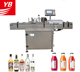 Round bottle labeling machine YB-LT100 bottle labeler automatic positioning labeling machine