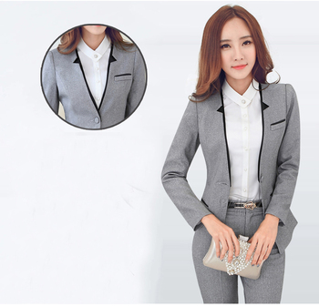 Formal Women Business Suits Work Wear Sets Ladies Uniforms Ol Style