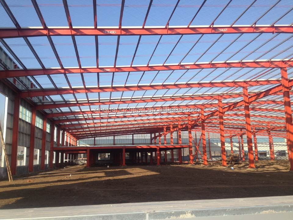 light steel structure shopping mall