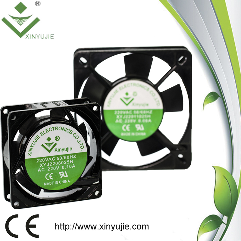 Low Power Consumption Compact Ac Fan 80mm 220v Quiet Cooling Ac Mini Axial  Fan With Ul Ce Approved - Buy Consumption Compact Ac Fan,Consumption