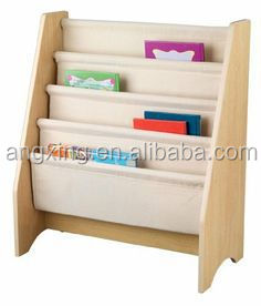 customized wooden furniture book and card rack design price for children