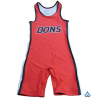 Sublimation wrestling singlets wears for sale