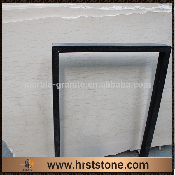 Natural cross cut american beige marble decorative items
