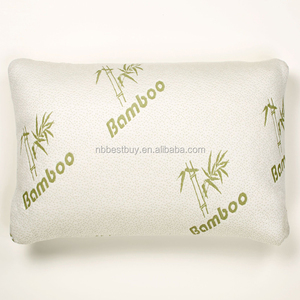 King and Queen Size Pillow Custom Bamboo Bed Rest Pillow With Washable Cover Memory Foam Pillows.