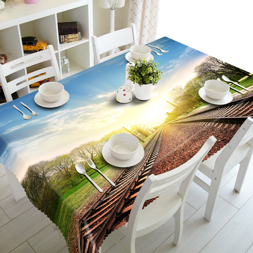 High Quality Disposable Hand Embroidery Designs Arabic 3D Curly Willow Jaipur Hand Block Print Table Cloth