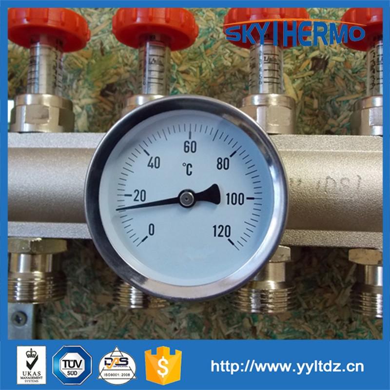 Term metro industrial caldera de agua caliente biemtal - Medidor de temperatura ...