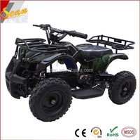 Kids electric quad 4x4 atv mini outdoor dirt bike