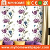 2016 new design good coverage washable pvc vinyl wallpaper for restaurant decoration