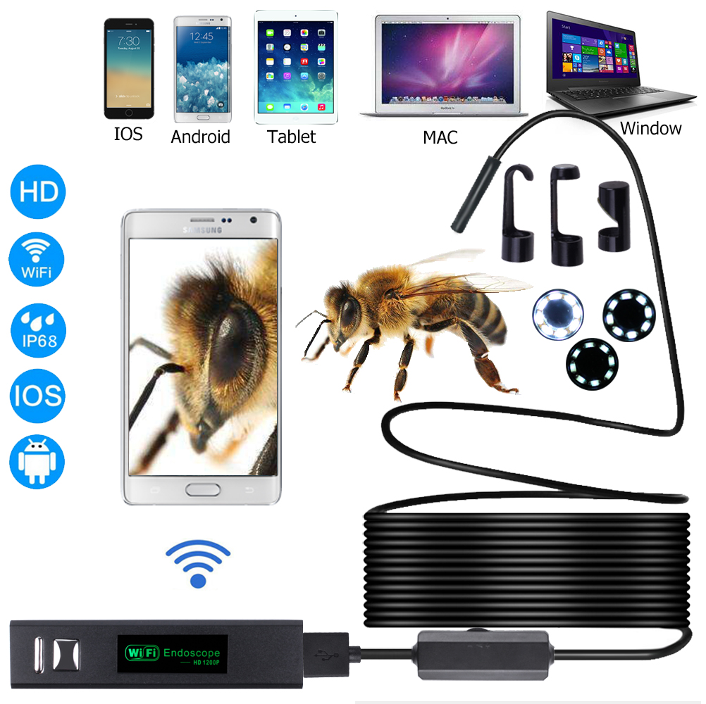 HD 1200P 2MP Waterproof endoscope borescope camera endoscope camera module android usb