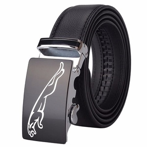 New Designer High Quality Automatic Buckle Cowhide Leather men belt Fashion Luxury designer belts men