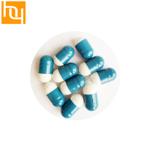 Vigorous blue and white with US FDA and Halal certified empty hard gelatin capsules