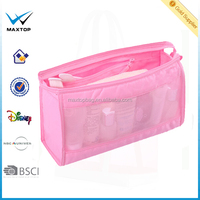 Lightweight foldable travel toiletry bag