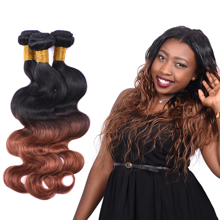 Wholesale price brazil remy human hair extension in dubai
