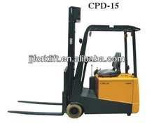 small 750-1500kg electric forklift truck CPD10