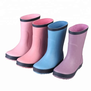 wholesale durable colorful oem kid rubber shoes,girl wellies rubber kids wellington boots