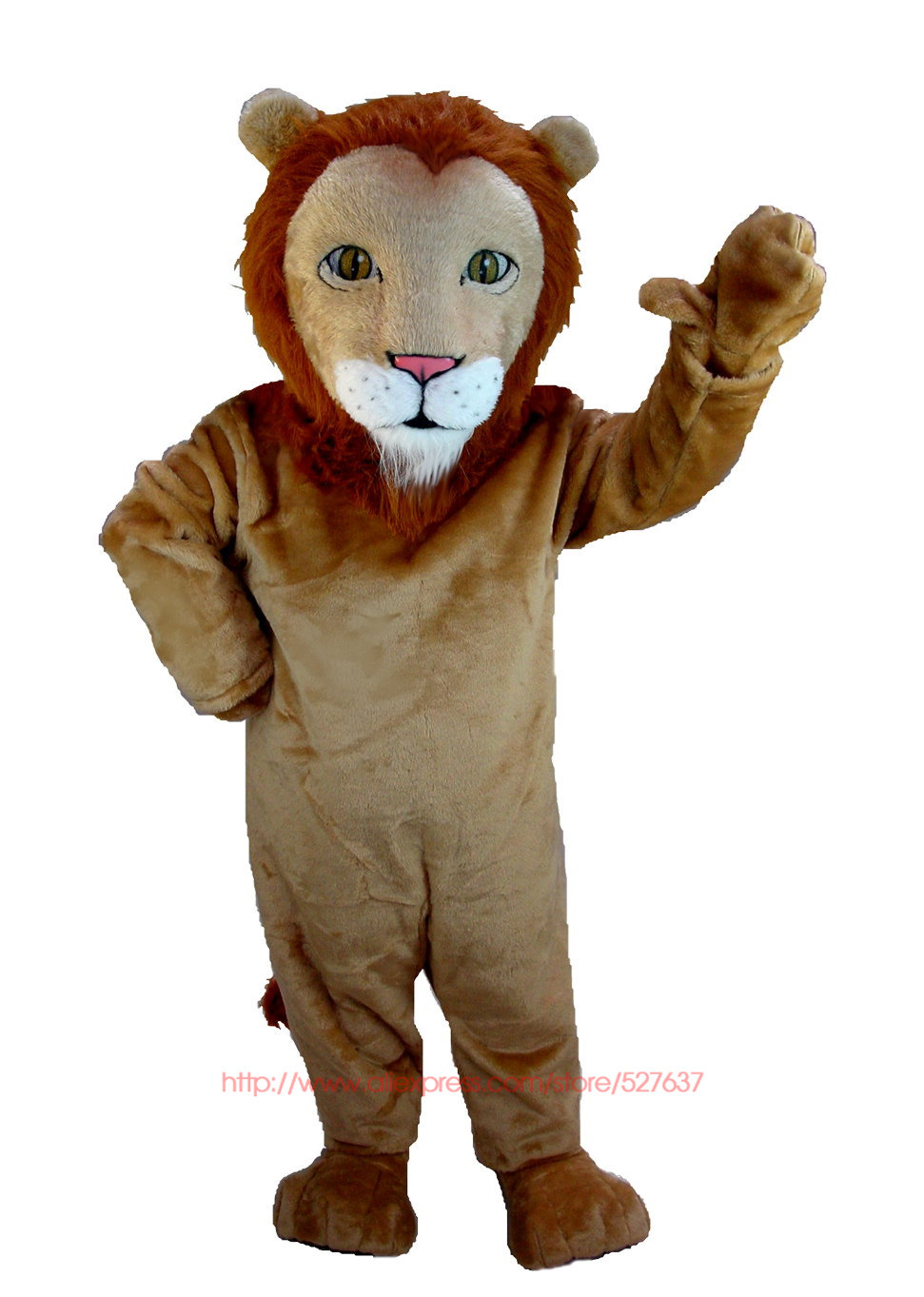 d6c2fd307 Get Quotations · New African Lion Mascot Costume (Thermolite) school mascot  costumes