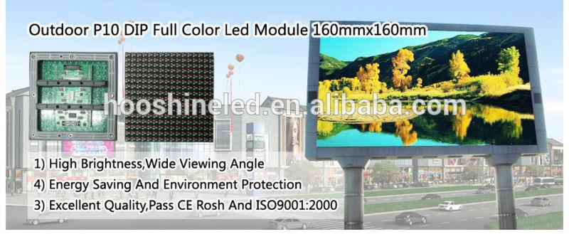 high brightness p6 smd3535 big video commercial advertising led display