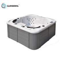 Sunrans outdoor massage 4 person balboa hot tub