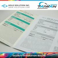 School Transcript Security Design Anti Copy Paper