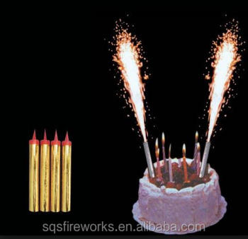Remarkable Indoor Cold Flame Birthday Cake Candle Fountain Sparkler Fireworks Personalised Birthday Cards Paralily Jamesorg