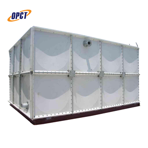 100m3 frp/grp smc panel sectional frp fiberglass square water tank