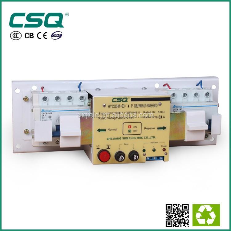 China Supplier Hycq5-63m 63 Amp Auto Power Switch/ Ats Switch ...