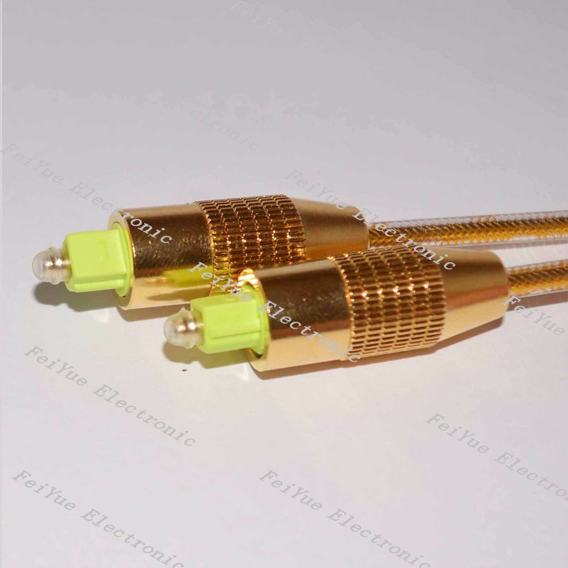 4.0mm High quality Digital Audio Cable Toslink to Toslink Optical Fiber Cable