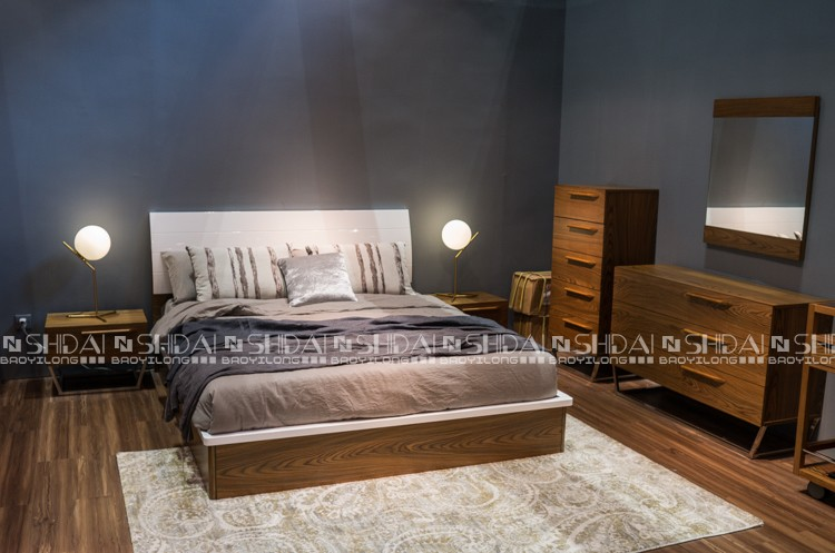 2017 Latest New Model Bedroom Furniture Wooden Designs ... on New Model Bedroom  id=78891