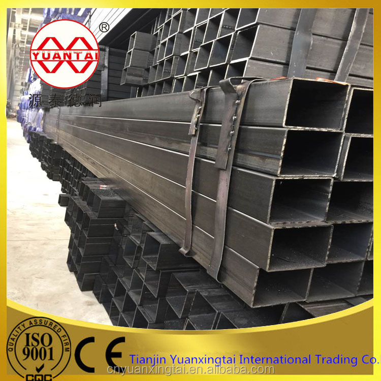 mild steel square hollow box section / square steel pipe price