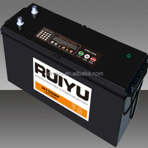 MF Car Starting Battery JIS Standard Lead Acid 12V120Ah Free OEM with your brand