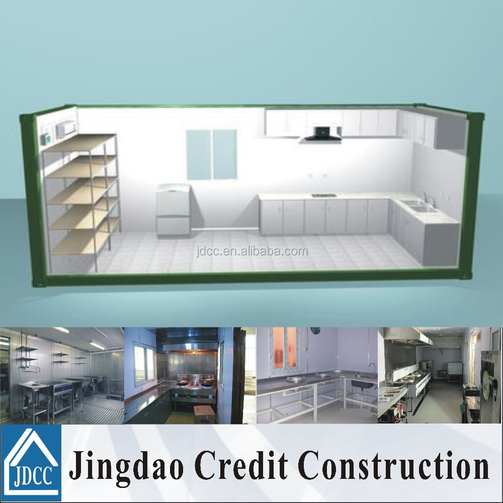 Prefabricated Container Kitchen, Prefabricated Container Kitchen ...