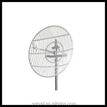WIFI Square Grid Parabolic 24GHz 24dBi Antenna Outdoor