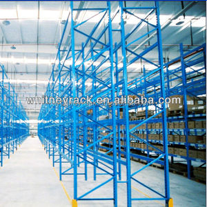 rack for warehouse to store furnture items such as tv units and sofas