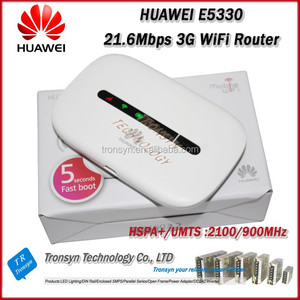 Hot Sale Original Unlock HSPA+ 21 6Mbps E5330 Pocket 3G Bus WiFi Router  Support 900,2100Mhz