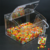 supermarket high quality wall mounted candy bins,retail store high clear acrylic tube candy bin