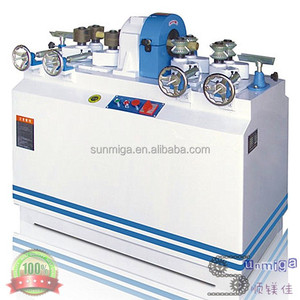 High efficiency wood rod rounding machine