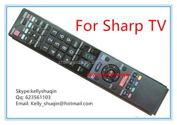 New Oem Sharpuer Gb105wjsa Aquos Led Smart Tv Remote Control Rrmcgb105wjsa  - Buy Smart Tv Remote Control,New Oem Xsharp Aquos,Sharpe Tv Remote Control