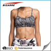 Nylon/Spandex Dry Fit Womens Gym Wear Sexy Durable Yoga Bra Wholesale Sports Bra
