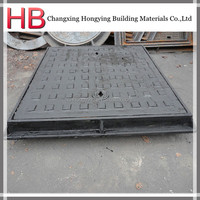 square ductile cast iron cover and frame