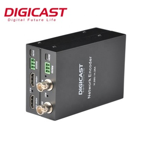 DTVANE MINI One Channel SDI IPTV Encoder H 265 HEVC H 264 Live Streaming  Encoder with TF Card Recording Storage