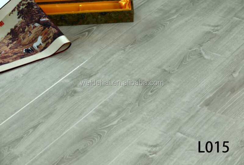 water resistant 12mm hdf wood finish grey ac4 class 32 flooring laminate
