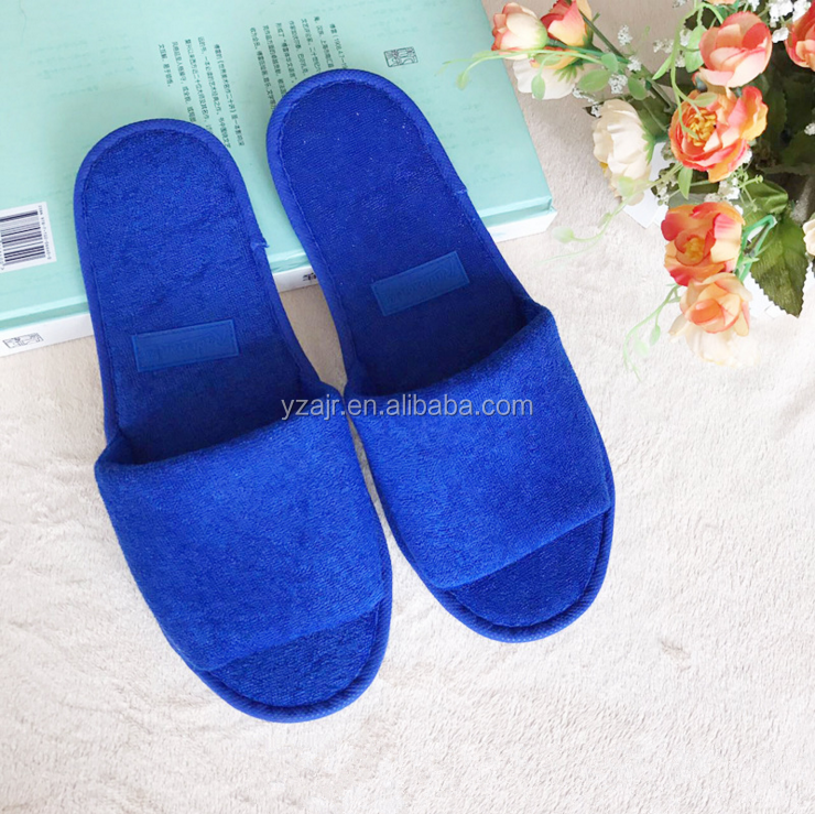 Factory direct sales disposable slippers hotel hotel can customize slippers