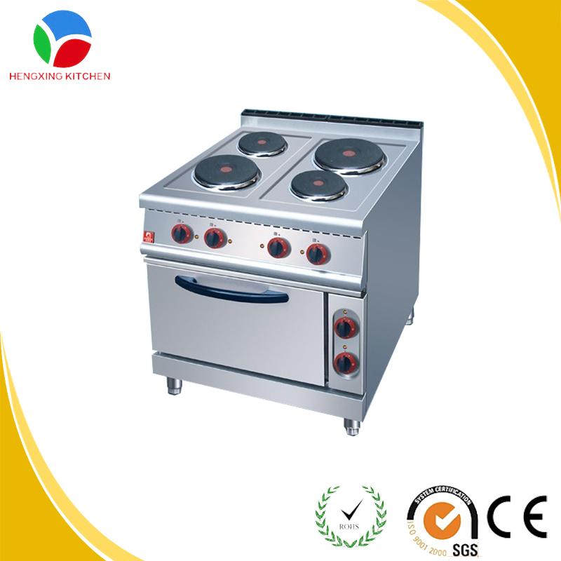 Heating Efficiency 4 Burner Electric Stove For Restaurant