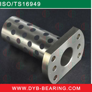 Sleeve,flange,thrust pad,Customized,flat(ipad) solid lubricating bushing Graphite Bronze JDB Bearing