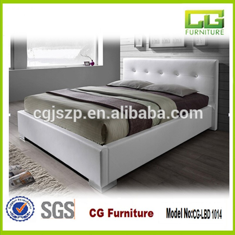 Queen Leather Bed Frame, Queen Leather Bed Frame Suppliers and ...