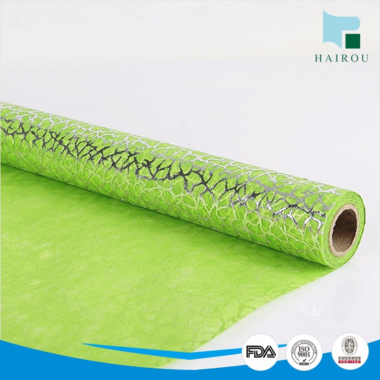 100% PET non woven gift wrapping paper