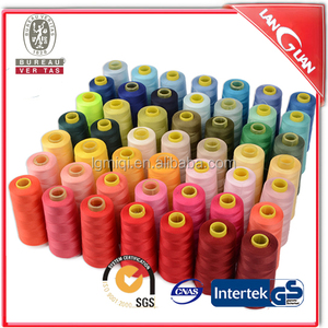 High quality 3000m 40/2 color silk embroidery thread