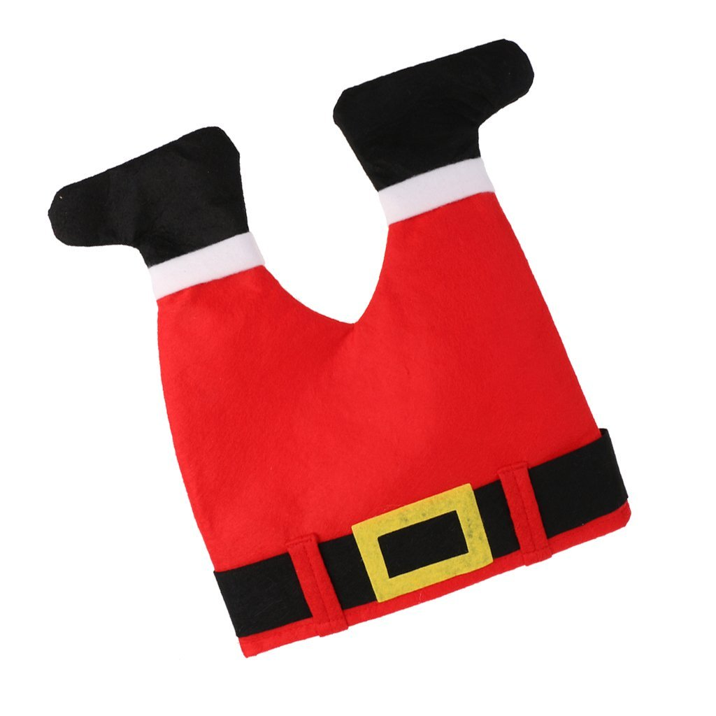 9b3544f7f169e Get Quotations · MonkeyJack Funny Christmas Santa Hat Fancy Dress Costume  Kids Adult Xmas Party Headgear