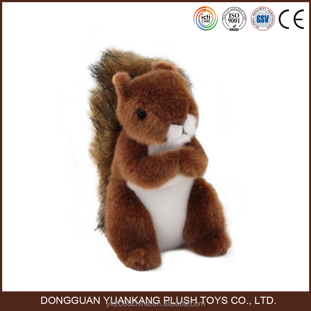Talking squirrel plush toy